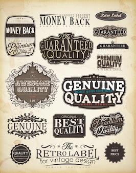 Background sticker banner vintage mug