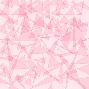 Background template with pink triangle shapes