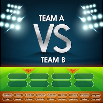 Background to choose cricket team