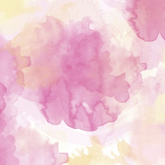 Background with a pink watercolor texture