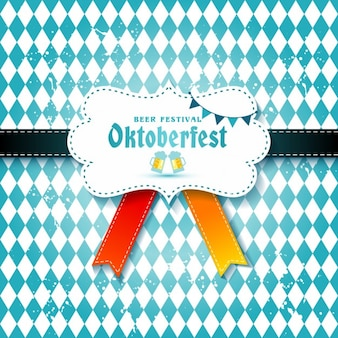 Background with a tie for oktoberfest