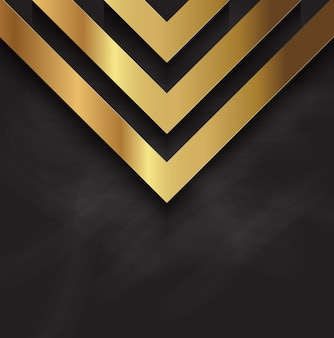 黒板の質感の抽象的な金メダルのデザイン