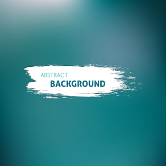 Background with blur effect, blue color