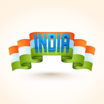 Background with flag for republic day of india