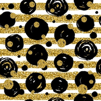 Background with glitter lines