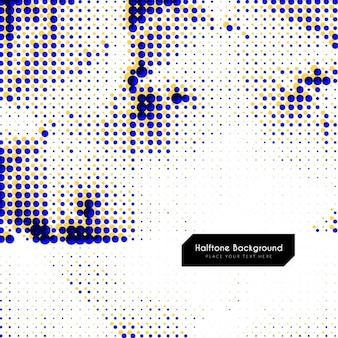 Background with halftone dots