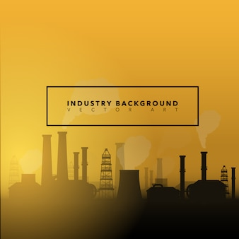 Background with industry design