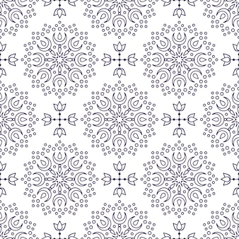 Background with mandala pattern