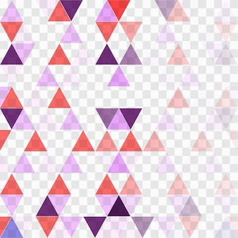 Background with red and purple triangles