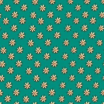 Background with small flower pattern