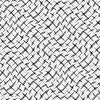 Фон с волнистыми линиями в черный цвет