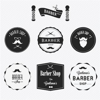 Badges for barber shops