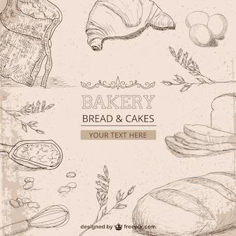Bakery drawings