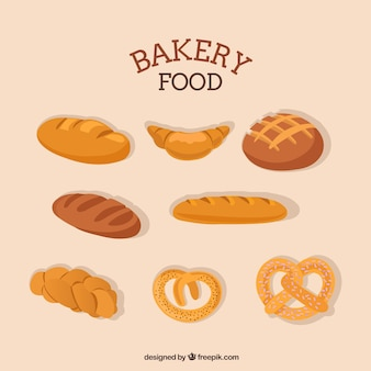 Bakery food collection