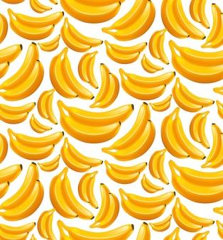 Banana seamless pattern
