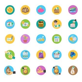 Banking icons collection