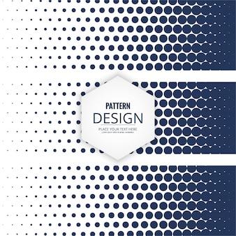 Banner style geometric pattern