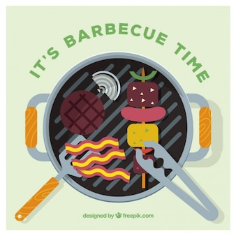 Barbecue Time Background