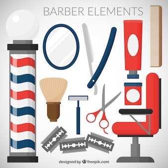 Barber element collection