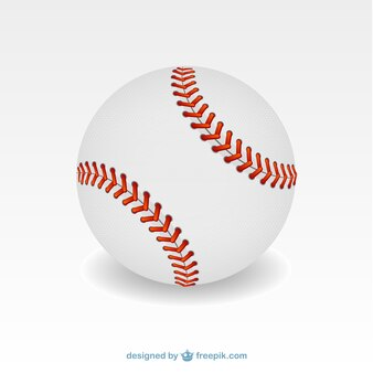 Baseball ball illustration