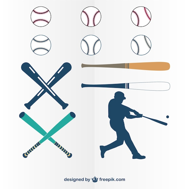 Baseball Bat Vectors, Photos and PSD files   Free Download