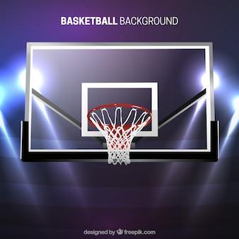 Basketball basket modern background