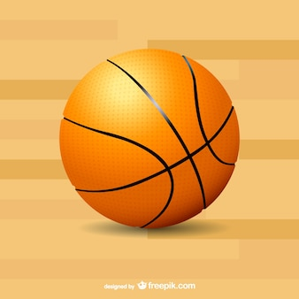 Basketball leisure time vector