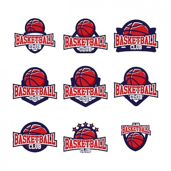 Basketball logo templates design