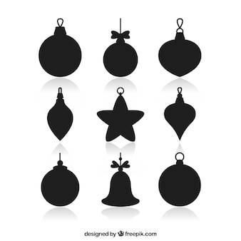 Bauble silhouette collection