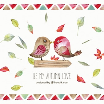 Be my autumn love