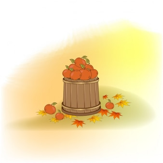 Beautiful autumn elements