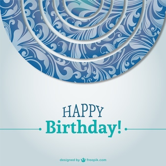 beautiful birthday card background   vector