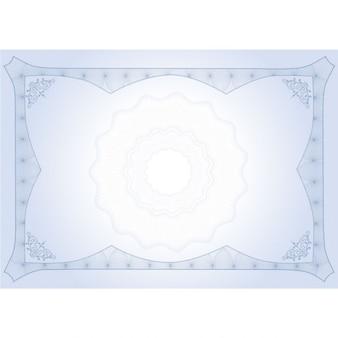 Beautiful blue diploma