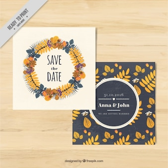 Beautiful cards to celebrate the fall