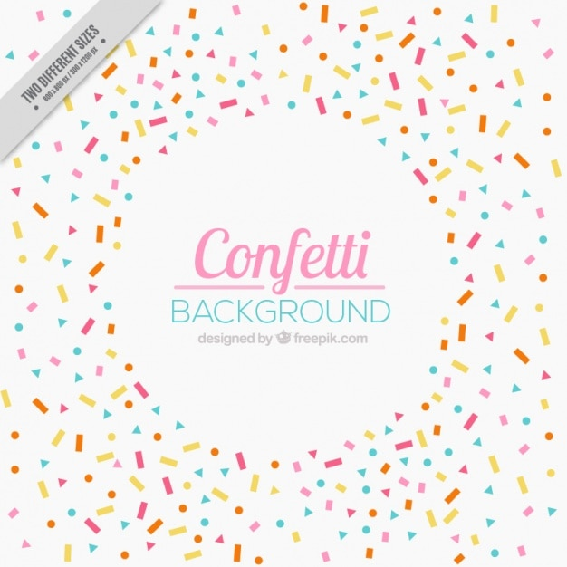 Confetti Vectors, Photos and PSD files | Free Download
