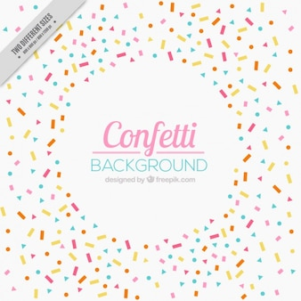 Beautiful celebration background with confetti