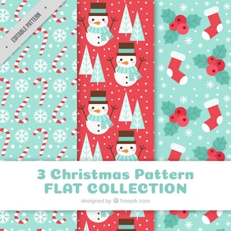 Beautiful christmas patterns