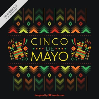 Beautiful cinco de mayo background