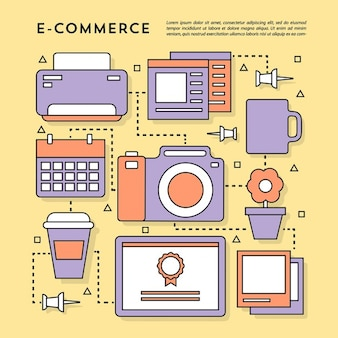 Beautiful elements for e comerce