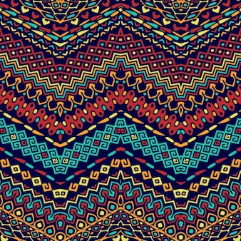 Beautiful ethnic pattern with ornaments