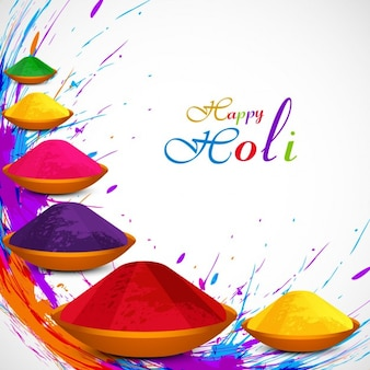 Beautiful Holi festival background