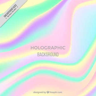 Beautiful holographic background