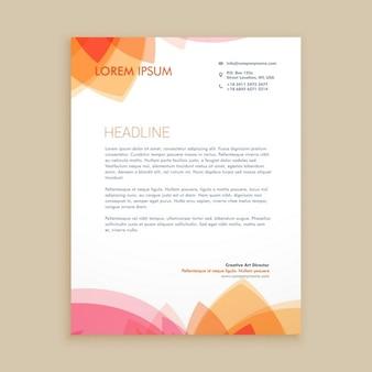 Beautiful letterhead design