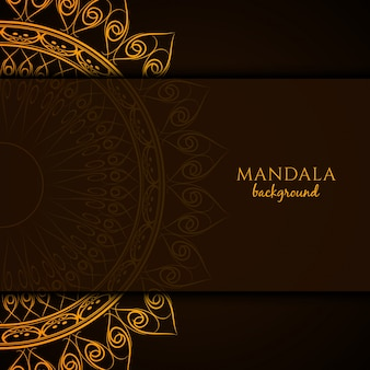 Beautiful mandala design background