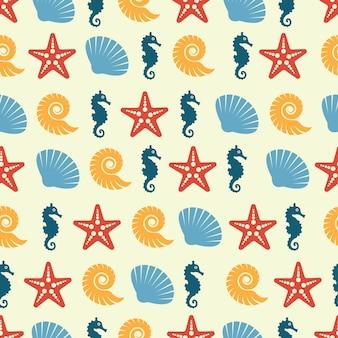 Beautiful Marine Pattern