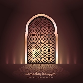 Beautiful mosque door