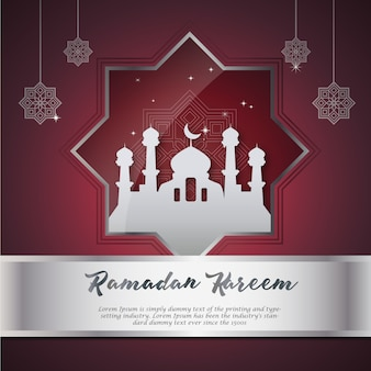 Beautiful ramadan background