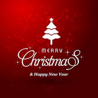 Beautiful red background for christmas celebration