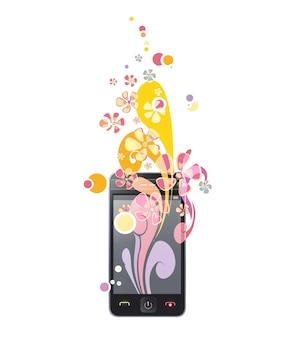 Beautiful smartphone background