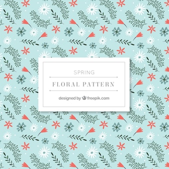 Beautiful spring floral pattern
